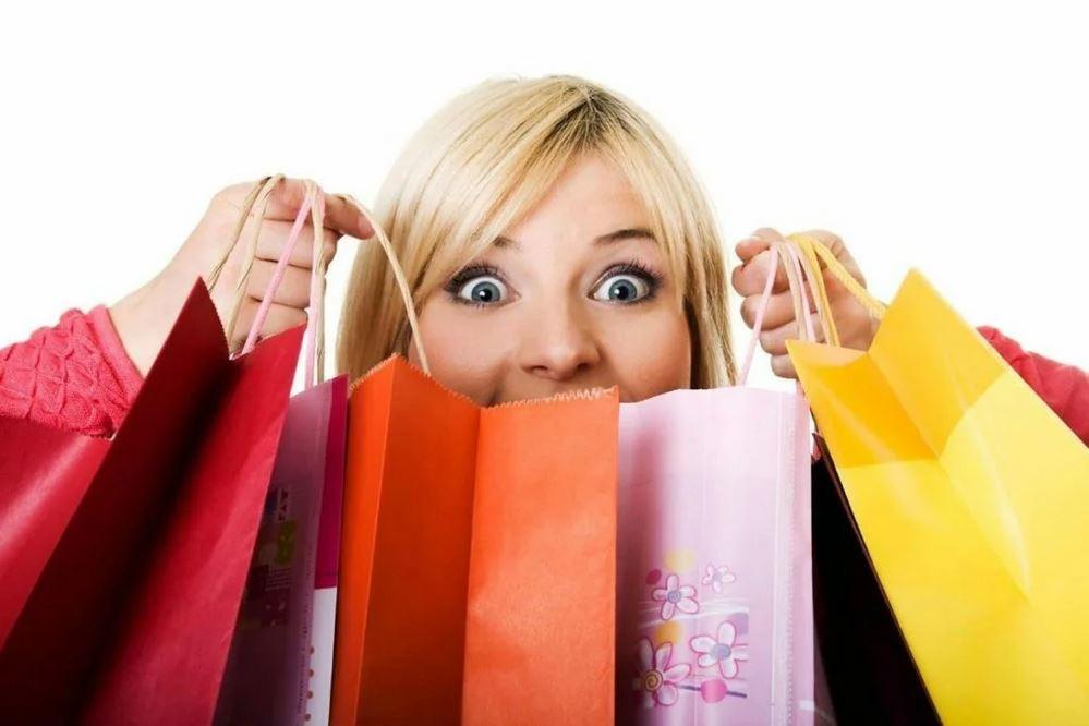 радость от покупок