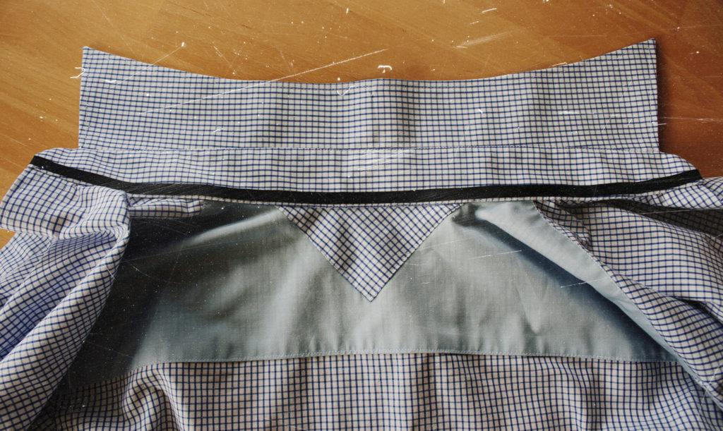 рубашка на изнанку