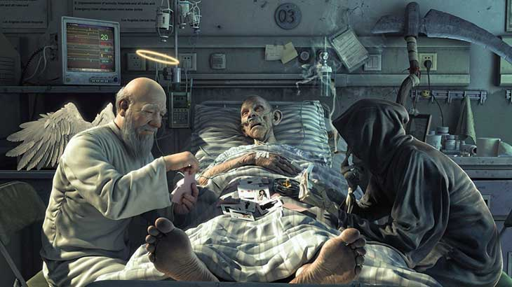 Смерть — что это такое и какие причины внезапной смерти бывают