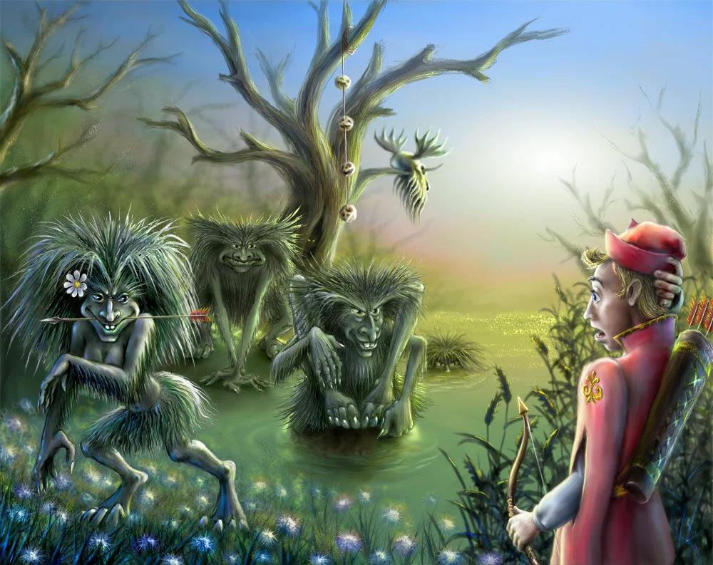 кикимора в славянской мифологии