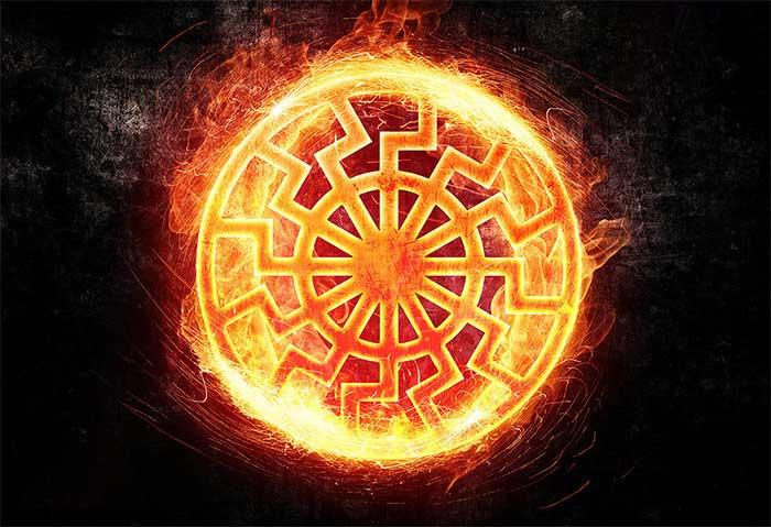 черное солнце славянский символ