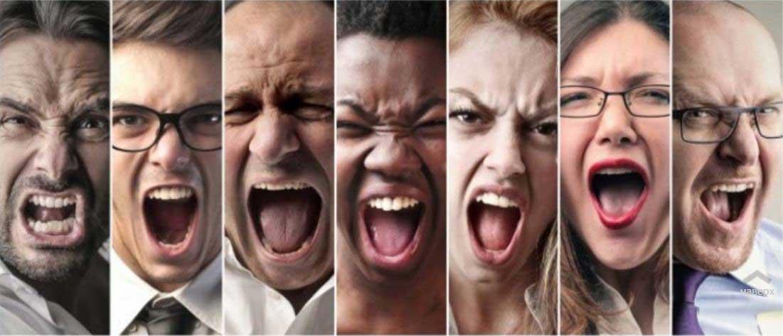 Какие бывают чувства, 7 эмоций